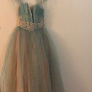 Emma Domb 50's tulle prom dress